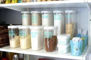 Ingredient Storage Containers