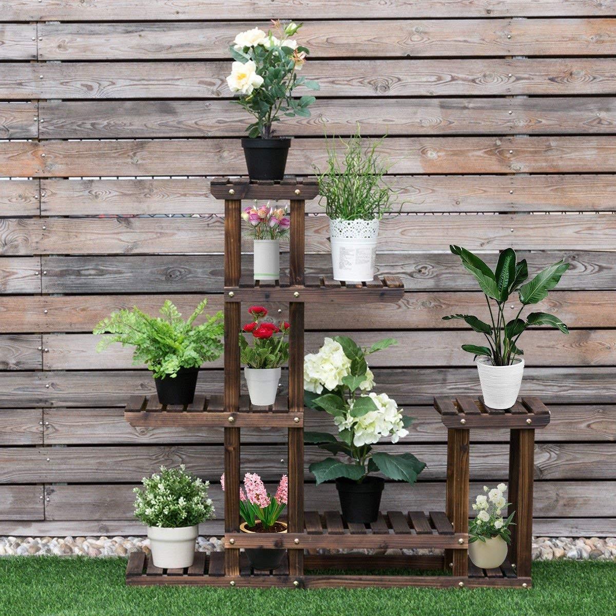 Giantex Flower Rack Plant Stand