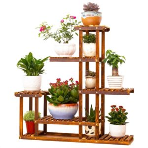 UNHO Wooden Flower Stands