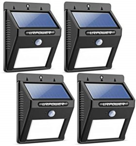 URPOWER Solar Lights 8 LED