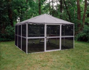 Casita 12-Panel Square Screenhouse