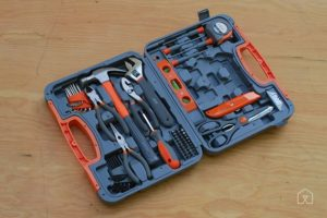 HDX 76-Piece Homeowner's Tool Set