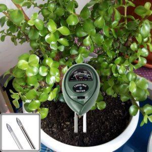 KKmall® 3-in-1 Soil Moisture Sensor Meter