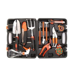 OUTAD 12 Pieces Ergonomic Gardening Hand Tool Kits
