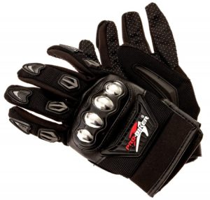 Steel Knuckle Motorcycle Gloves