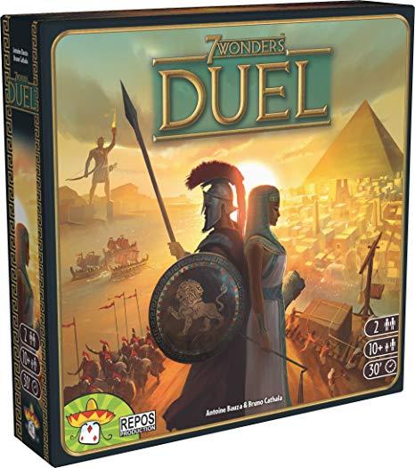 7 Wonders Duel best board games
