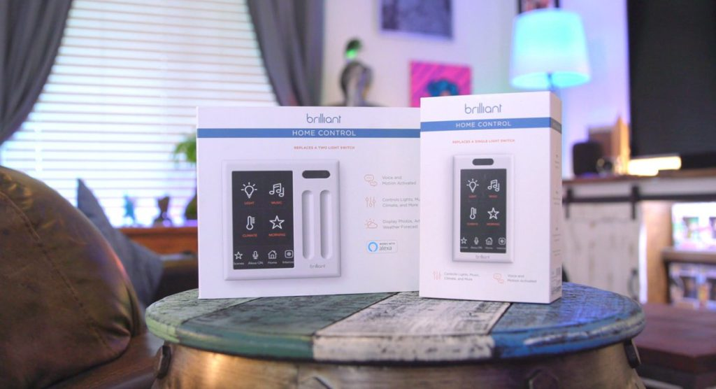 Brilliant All-In-One Smart Home Control Smart Gadgets