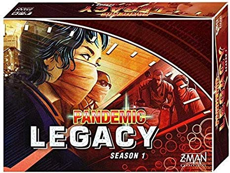 Pandemic Legacy-board games