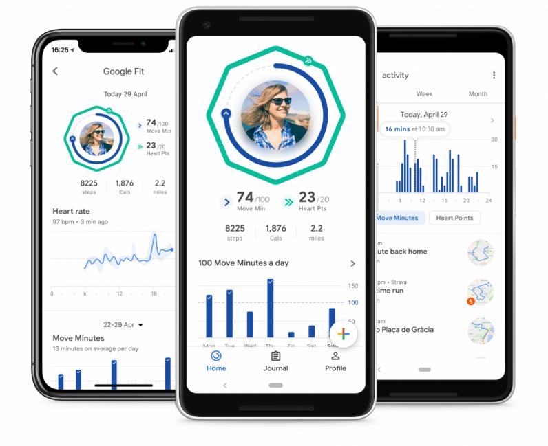 Google Fit best sleep tracker app