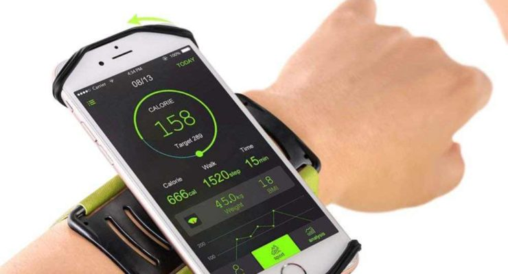 Rotatable Phone Armband by VUP