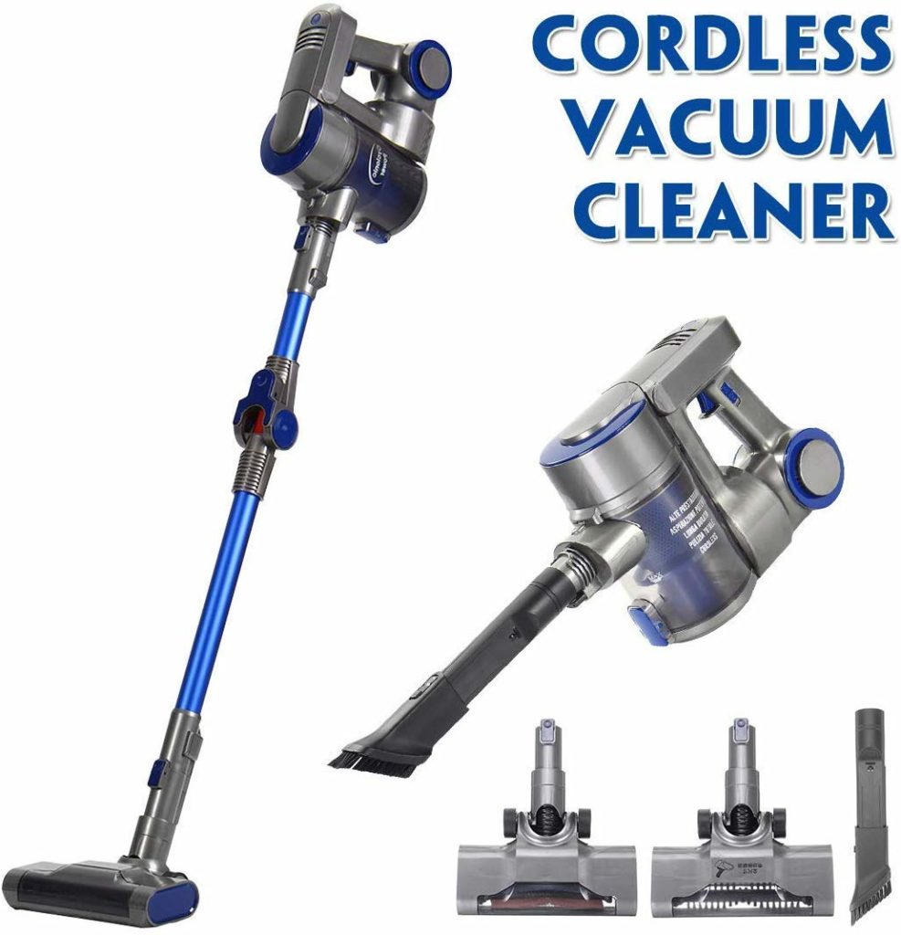 Kingso cordless vacuum cleaner